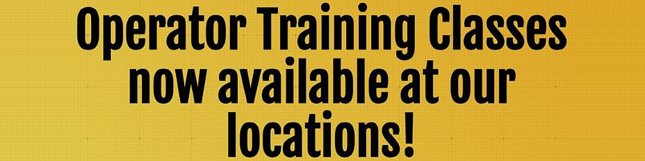 Operator Training offered by Kelly Tractor Co