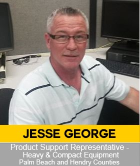 Jesse George Product Support and Sales Representative