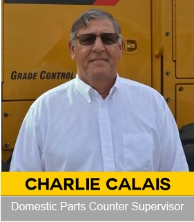 Charlie CalaisDomestic Parts Counter Supervisor