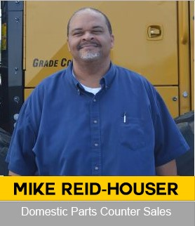 Mike Reid-HauserDomestic Parts Counter Sales