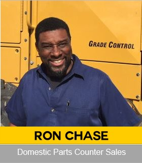 Ronald ChaseDomestic Parts Counter Sales