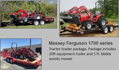 Kelly Tractor Forestry Tractors Supertrak Mulchers