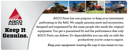 Agricutlture Agco Genuine Parts