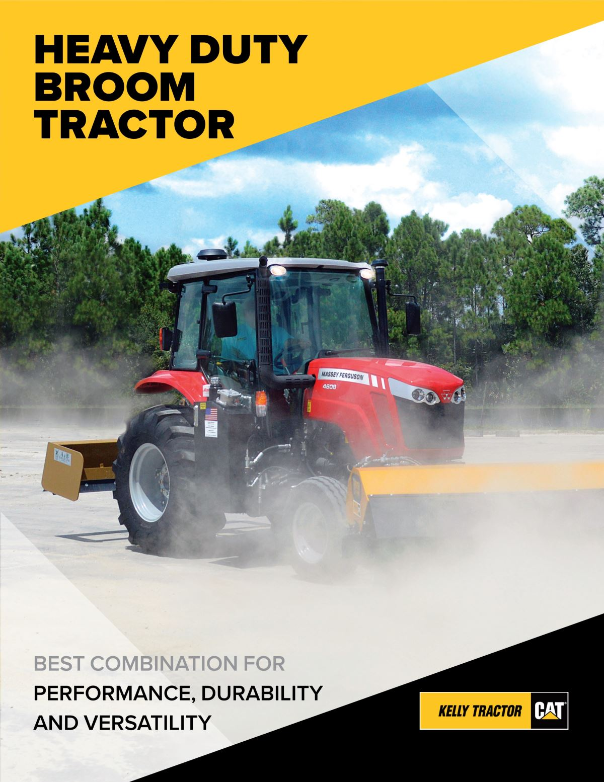 Smith Challenger Heavy Duty Broom Tractor
