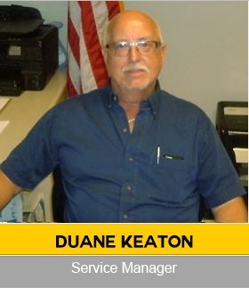 Duane Keaton Agricultural Service Manager