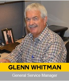 Glenn Whitman Agricultural General Service Manager