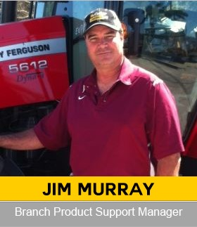 Jim Murray Agricultural Parts Manager