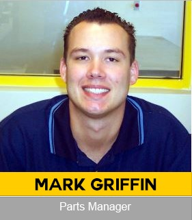 Mark Griffin Agricultural Parts Manager