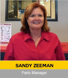 Sandy Zeeman Agricutural Parts Manager