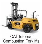 CAT Internal Combustion Forklifts