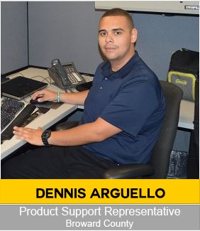 Dennis Arguello Product Support Representative