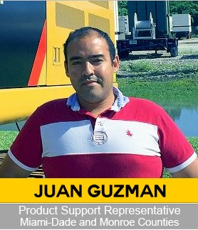 Juan Guzman Product Support Representative