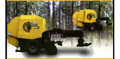 Kelly Tractor Forestry Tractors Supertrak Bio Balers