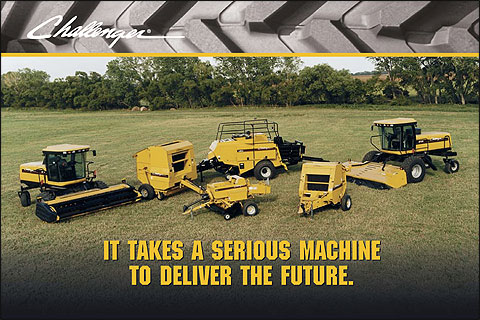 Challenger Hay Balers, hay balers – Kelly Tractor Co