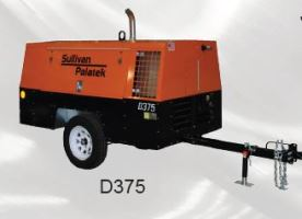 Sullivan Palatek Air Compressor D375A
