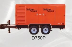 Sullivan Palatek Air Compressor D750P