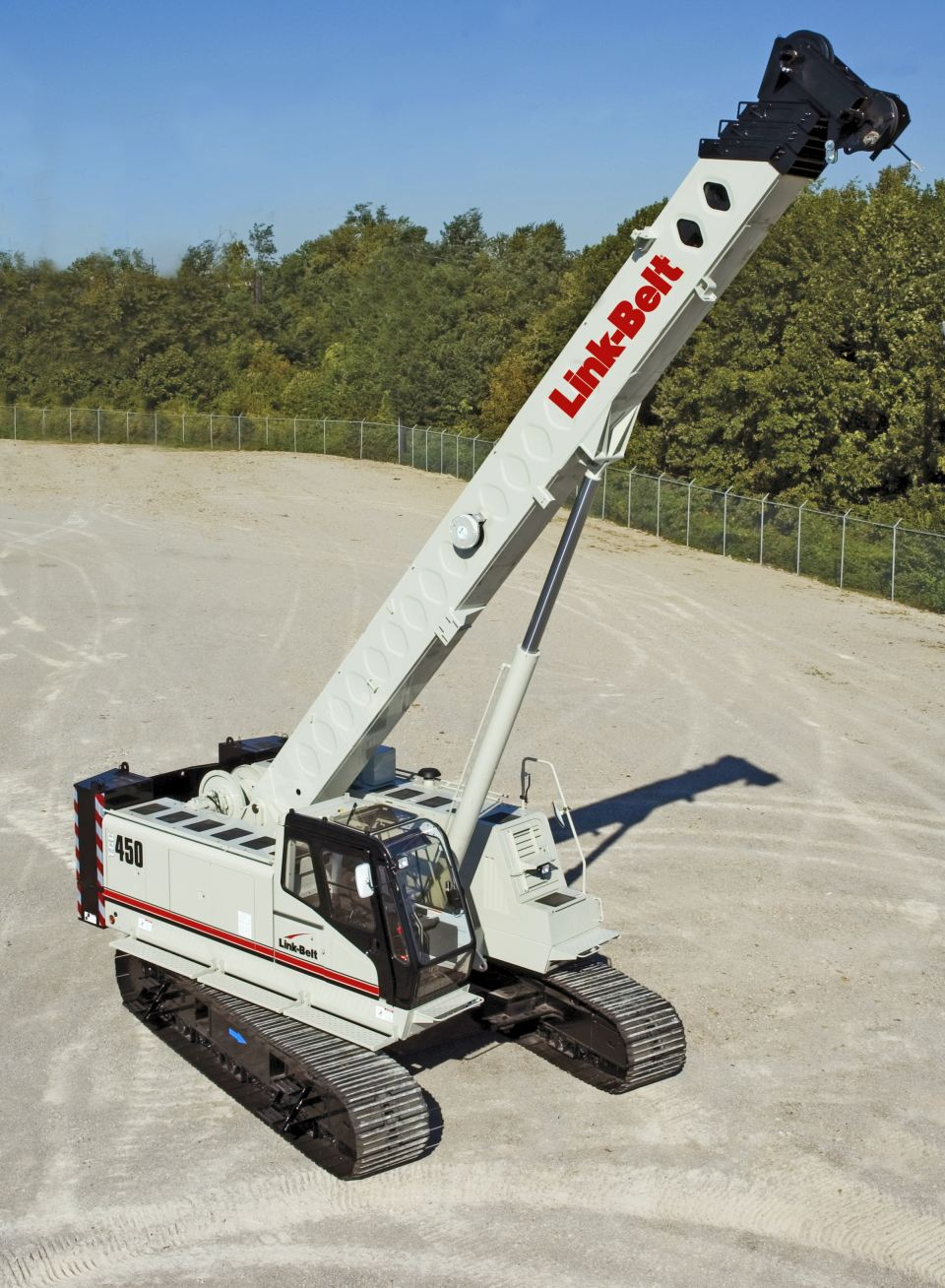 Kelly Tractor Telescopic Crawler Cranes
