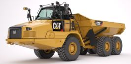 Caterpillar Articulated Trucks - Kelly Tractor Co