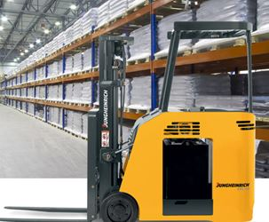 Jungheinrich Electric Stand-Up End Control Forklift