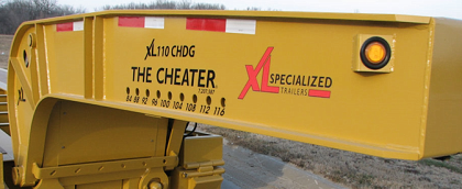 Patented XL Cheater Hydraulic Detachable Gooseneck