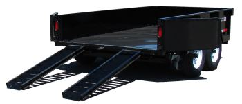 Hydraulic Dump FT-12 DT-HD Ramps